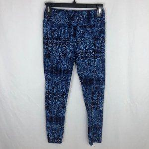 Lularoe soft leggings OS blue graphic 3/$30
